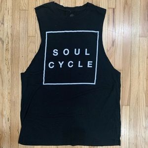 SoulCycle Cut Off Workout Tank - Size Large